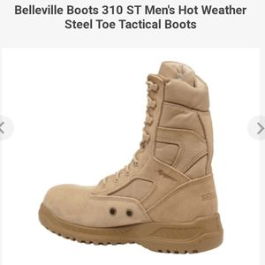 NEW Belleville Steel Toe Boots 310ST 8.5 Military